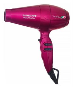 SECADOR PROFISSIONAL BABYLISS PRO PINK 2000w