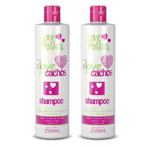 2 SHAMPOO 250ML  - I LOVE MY CACHOS - LOVE POTION
