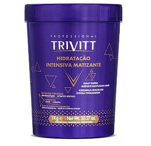 ITALLIAN TRIVITT  BLONDE HIDRATAÇÃO MATIZANTE - MÁSCARA 1KG