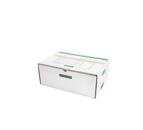 Caixa D Branca Modelo Correio 32x23x13 - Pct com 50 unidades