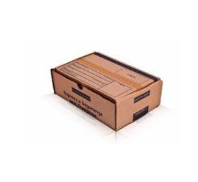Caixa 2 Parda Modelo Correio 25x16x8 - Pct com 50 unidades