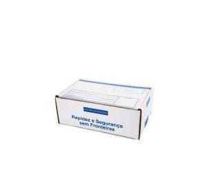 Caixa 3 Branca Modelo Correio 30x20x11 - Pact com 50 unidades