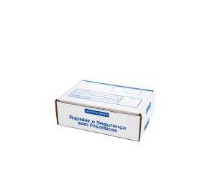Caixa 2 Branca Modelo Correio 25x16x8 - Pct com 50 unidades