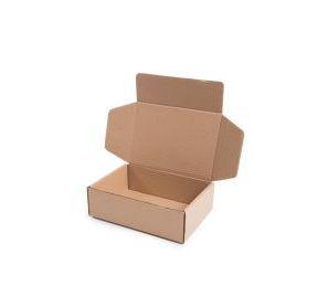 Caixa Caixa Loja Virtual Parda Lisa 27,5x9,8x9 - Pct com 50 unidades