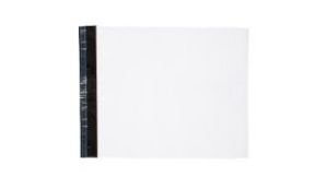 Envelope Plástico Liso c/ Bolha 19x19 Branco - Pct com 50 unidades