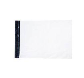 Envelope Plástico Liso 26x36 Branco - Pct com 100 unidades