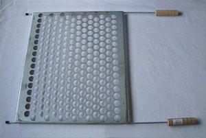 Grelha moeda 40X48 zincada