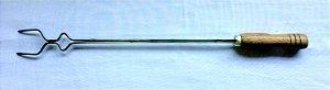 Garfo duplo 53 cm Inox