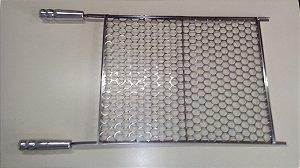 Grelha moeda 50X40 Inox