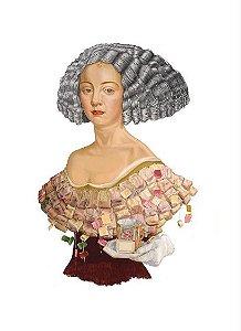Gravura Catarina de Bragança