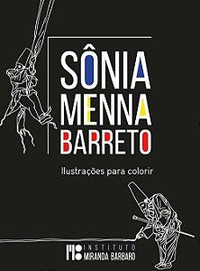 Livro Sônia Menna Barreto - Ilustrações para colorir