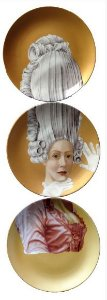 Conjunto Maria Antonieta dourado