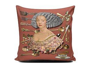 Almofada Catarina de Bragança - Talheres