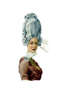 Gravura Rainha Maria Antonieta