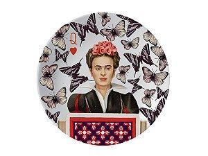 Prato Frida Kahlo - Borboletas