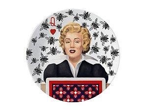 Prato Marilyn Monroe - Abelhas