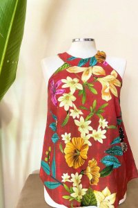 Blusa Red Butterfly