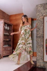 Vestido Longo Botânic