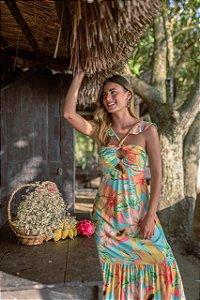 Vestido Longo Papaya