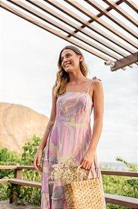 Vestido Midi Aquarela