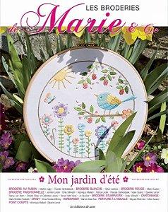 Les Broderies de Marie & Cie Nº 03 - Mon jardin d'été