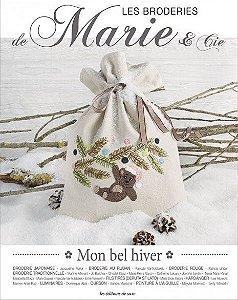 Les Broderies de Marie & Cie Nº 09 - Mon bel hiver