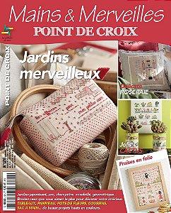 MAINS & MERVEILLES POINT DE CROIX N°126 - JARDINS MERVEILLEUX
