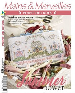 MAINS & MERVEILLES POINT DE CROIX Nº 132 - SUMMER POWER