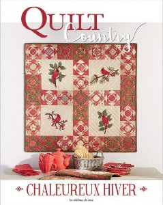 QUILT COUNTRY N° 59 - CHALEUREUX HIVER