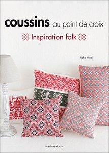 COUSSINS AU POINT DE CROIX: INSPIRATION FOLK