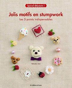 JOLIS MOTIFS EN STUMPWORK