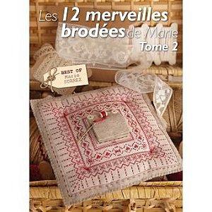 LES 12 MERVEILLES À BRODER DE MARIE - TOME 2