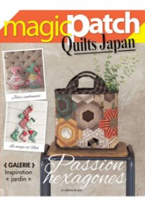 MAGIC PATCH QUILTS JAPAN N° 27 – PASSION HEXAGONES