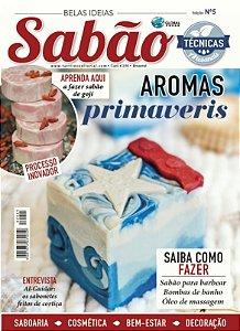 BELAS IDEIAS SABÃO Nº 05 - Aromas primaveris