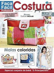 FAÇA FÁCIL COSTURA PROFESSIONAL #27 - Malas coloridas