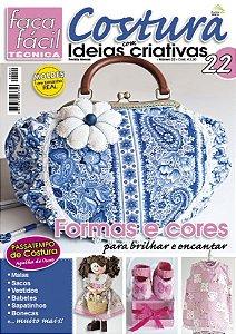 FAÇA FÁCIL TÉCNICA #22 -  COSTURA COM IDEIAS CRIATIVAS - Formas e cores para brilhar e encantar