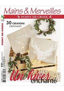 MAINS & MERVEILLES POINT DE CROIX N°134 - UN HIVER ENCHANTÉ