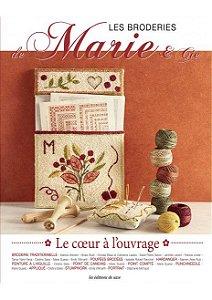 LES BRODERIES DE MARIE & CIE N° 12 - LE CŒUR À L'OUVRAGE