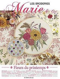 LES BRODERIES DE MARIE & CIE N°14 - Fleurs du printemps