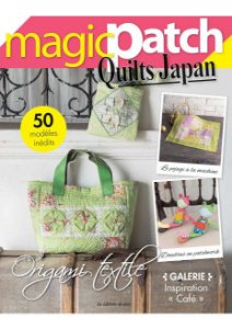 MAGIC PATCH QUILTS JAPAN N° 26 - ORIGAMI TEXTILE