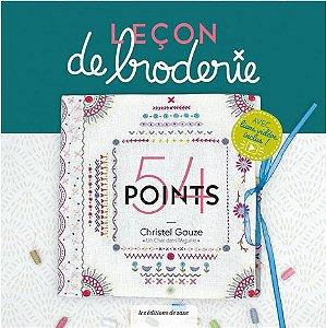 Leçon de Broderie - 54 points
