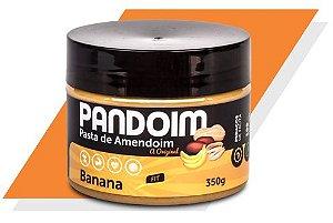 Pandoim Banana Pasta de Amendoim 350 g – Panda Proteico