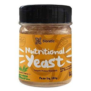 Nutritional Yeast (Levedura Nutricional) Fumaça e Alecrim 120 g – Bionetic