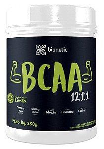 BCAA 12:1:1 Sabor Limão 250 g – Bionetic