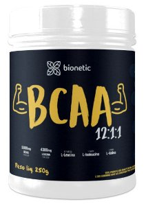 BCAA 12:1:1 Sabor Natural 250 g – Bionetic
