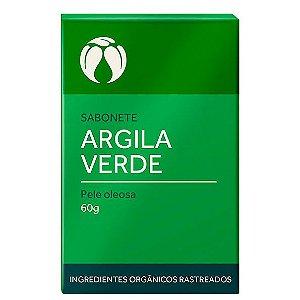 Sabonete Argila Verde Pele Oleosa Orgânico Natural – Cativa Natureza