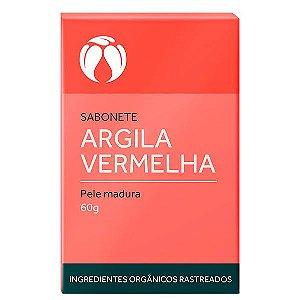 Sabonete Argila Vermelha Pele Madura Orgânico Natural – Cativa Natureza