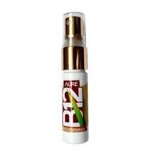 Vitamina B12 Spray METILCOBALAMINA 15 ml – Aure NanoScience