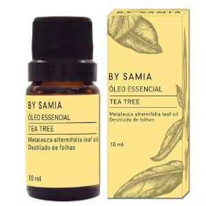 Óleo Essencial de Tea Tree (Melaleuca) 10ml – By Samia