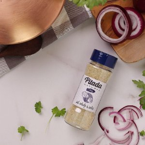 Sal, Cebola e Salsa 70 g – Pitada Natural